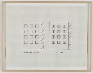 Peter Halley - Apartment House, Prison, 1981