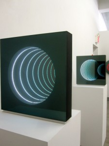 Paul Kolker - Infinity Vortex of Light Sculptures