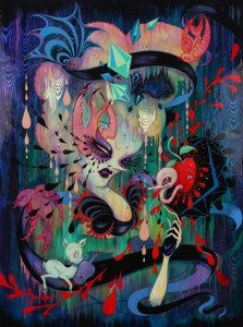 Camille Rose Garcia - Mirror, Black Mirror